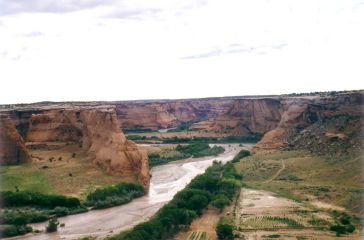 Canyon de Chelly: Whiskey creek